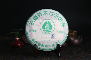 2007年 400g云南乔木七子饼