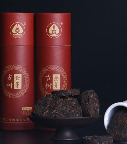 荣东达普洱茶品牌之【迷你古树金芽96g】